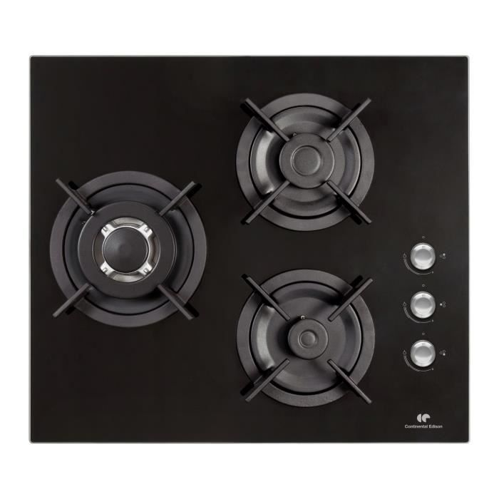 plaque gaz verre achat vente plaque gaz verre pas cher les soldes sur cdiscount cdiscount. Black Bedroom Furniture Sets. Home Design Ideas