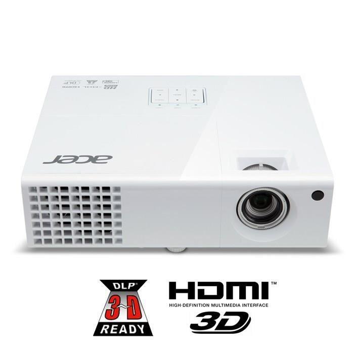 Vidéoprojecteur ACER X1373WH Vidéoprojecteur DLP 3D Ready