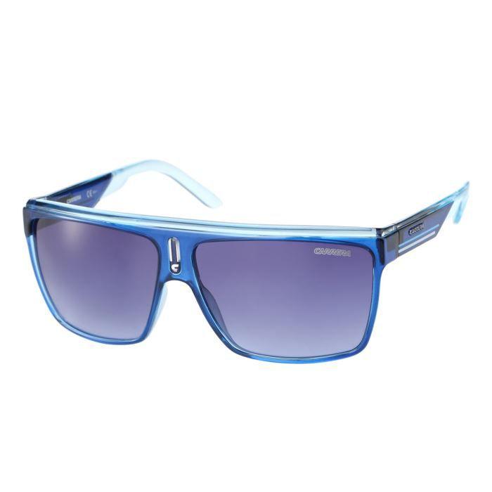 carrera lunettes de soleil homme bleu achat vente lunettes de soleil cdiscount. Black Bedroom Furniture Sets. Home Design Ideas
