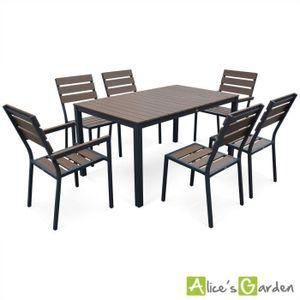 Table polywood achat vente table polywood pas cher - Salon de jardin en composite ...