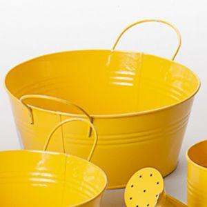 cache pot jaune achat vente cache pot jaune pas cher cdiscount. Black Bedroom Furniture Sets. Home Design Ideas