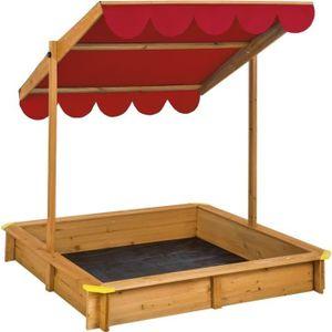 bac a sable en bois achat vente jeux et jouets pas chers. Black Bedroom Furniture Sets. Home Design Ideas