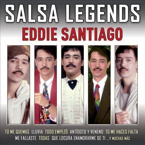 Eddie Santiago - Salsa Legends - Achat CD cd musique du monde pas cher ...