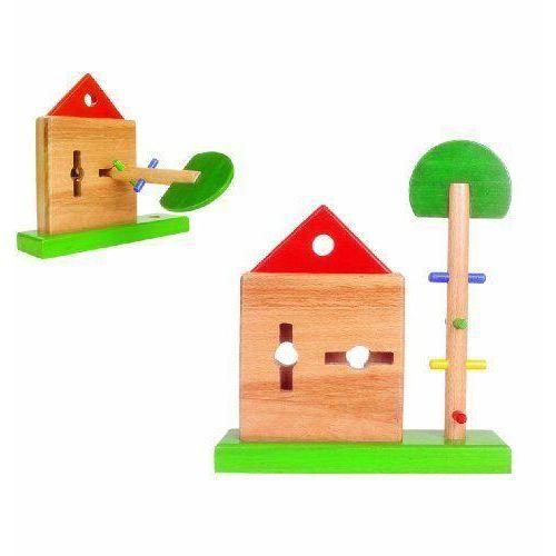 jouet en bois la maison serrure et ses clefs achat vente bo te forme gigogne cdiscount. Black Bedroom Furniture Sets. Home Design Ideas