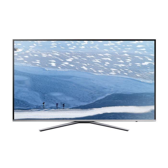 Téléviseur LED SAMSUNG - UE49KU6400UXZF - TV LED UHD 49'', Smart