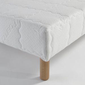 cadre lit bois 140x190 achat vente cadre lit bois 140x190 pas cher cdiscount. Black Bedroom Furniture Sets. Home Design Ideas