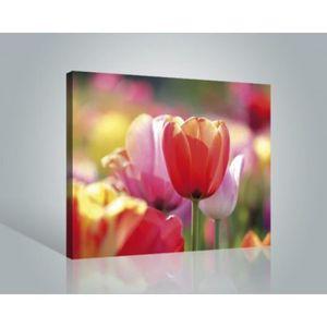 Tableau toile fleurs achat vente tableau toile fleurs for Poster sur toile