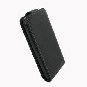 HOUSSE - ÉTUI Etui Samsung S3800 Rex 70 carbone noir