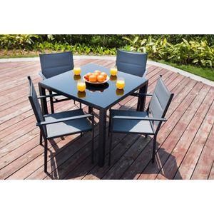 mobilier de jardin achat vente pas cher les soldes sur cdiscount cdiscount. Black Bedroom Furniture Sets. Home Design Ideas