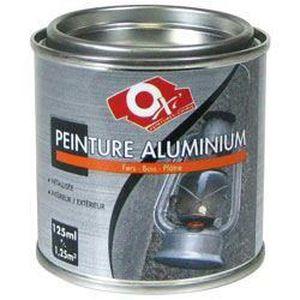 Peinture fer effet alu brillant 125 ml achat vente - Peinture effet aluminium ...