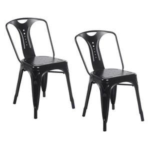 lot chaises industriel - achat / vente lot chaises industriel pas ... - Chaises Industrielles Pas Cher