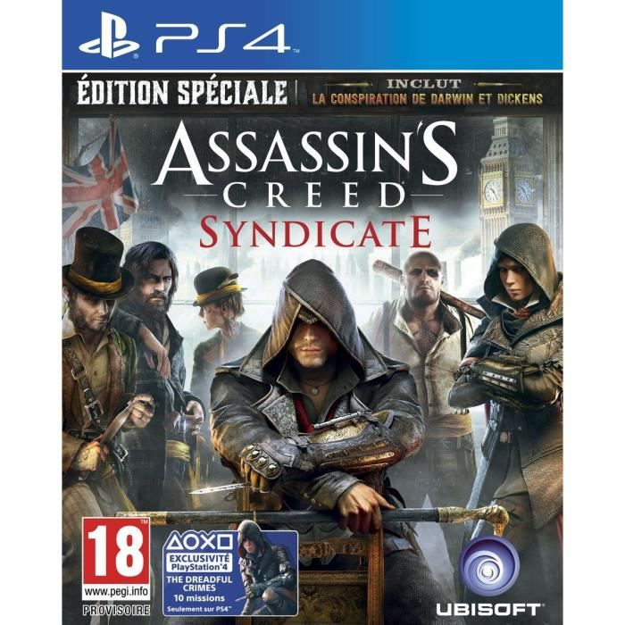 jeux pc video console ps assassin s creed syndicate edition speciale jeu f