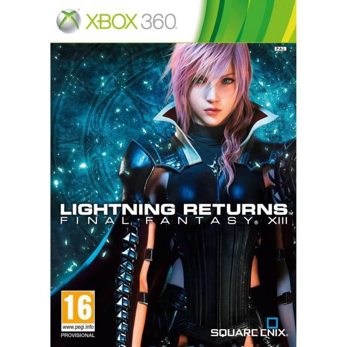 JEUX XBOX 360 Lightining Returns: Final Fantasy XIII XBOX 360