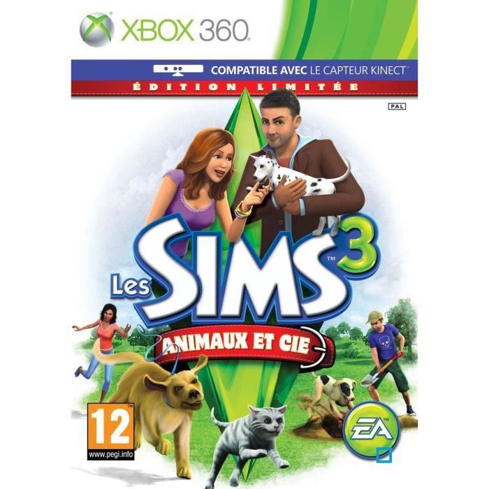 JEUX XBOX 360 Les Sims 3 Animaux et Cie Edition Limitée XBOX 360