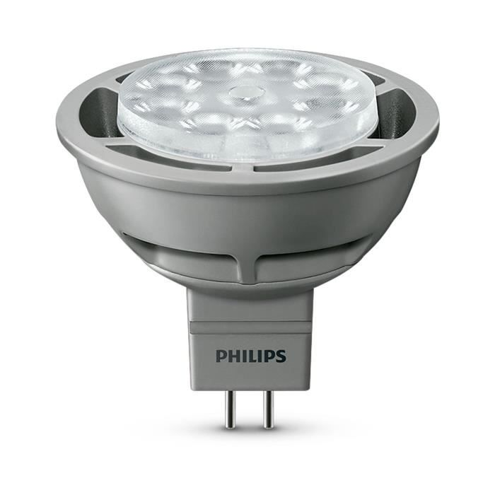 philips ampoule spot led 35w gu5 3 dimmable achat. Black Bedroom Furniture Sets. Home Design Ideas