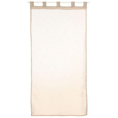 2 voiles pour fen tre 60 x 120 cm lin achat vente for Fenetre 60x120