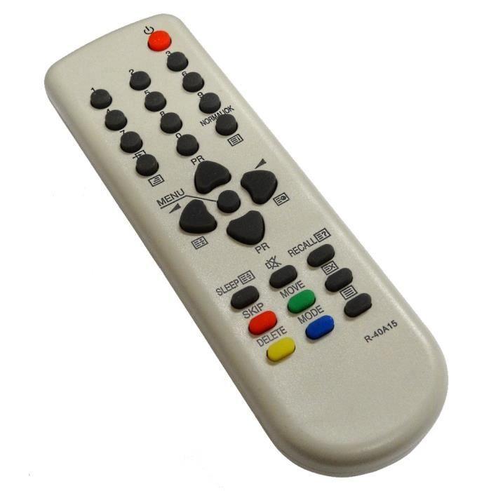 de TV télé compatible DAEWOO R 40A15 télécommande, prix