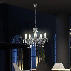 luminaire lustre lampe lampadaire d tails de lustr achat vente lustre et suspension. Black Bedroom Furniture Sets. Home Design Ideas