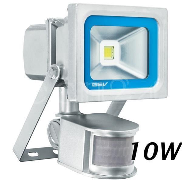 spot led d tecteur mouvement 180 10 watt achat vente d tecteur de mouvement cdiscount. Black Bedroom Furniture Sets. Home Design Ideas