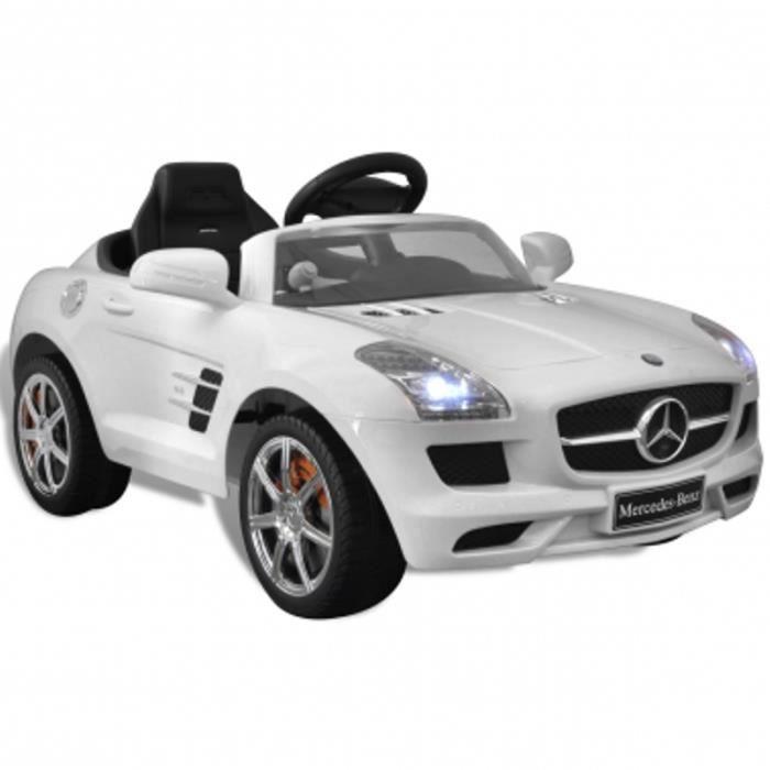 voiture lectrique pour enfants mercedes benz achat vente voiture enfant cdiscount. Black Bedroom Furniture Sets. Home Design Ideas