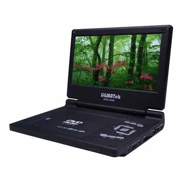 sigmatek lecteur dvd mpeg4 portable 9 pdx 3220 lecteur dvd portable avis et prix pas. Black Bedroom Furniture Sets. Home Design Ideas