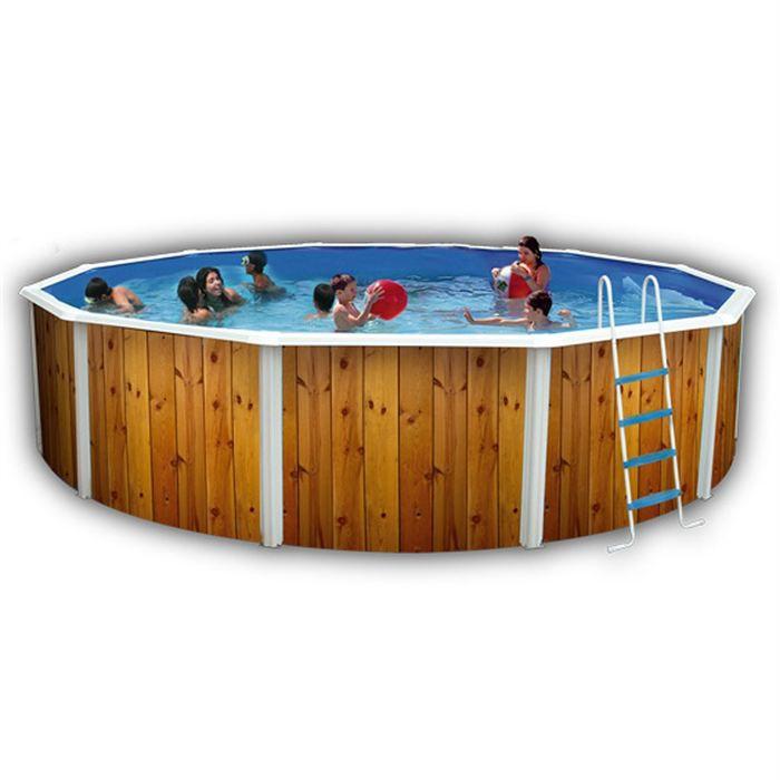 Veta piscine en acier circulaire 640x120 achat vente piscine piscine acier veta 640x120 for Achat piscine acier