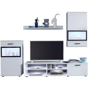 meuble tv achat vente meuble tv pas cher les soldes sur cdiscount cdiscount. Black Bedroom Furniture Sets. Home Design Ideas