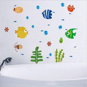 Adhesif decoratif pour salle de bain achat vente for Poisson d argent salle de bain