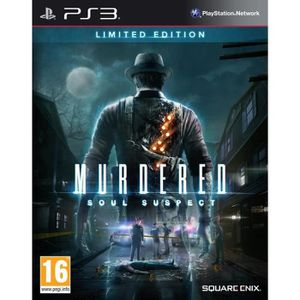 JEU PS3 Murdered: Soul Suspect Limited Edition (Playstatio
