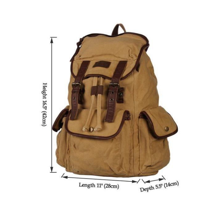 sac dos en toile portable cole voyage achat vente. Black Bedroom Furniture Sets. Home Design Ideas