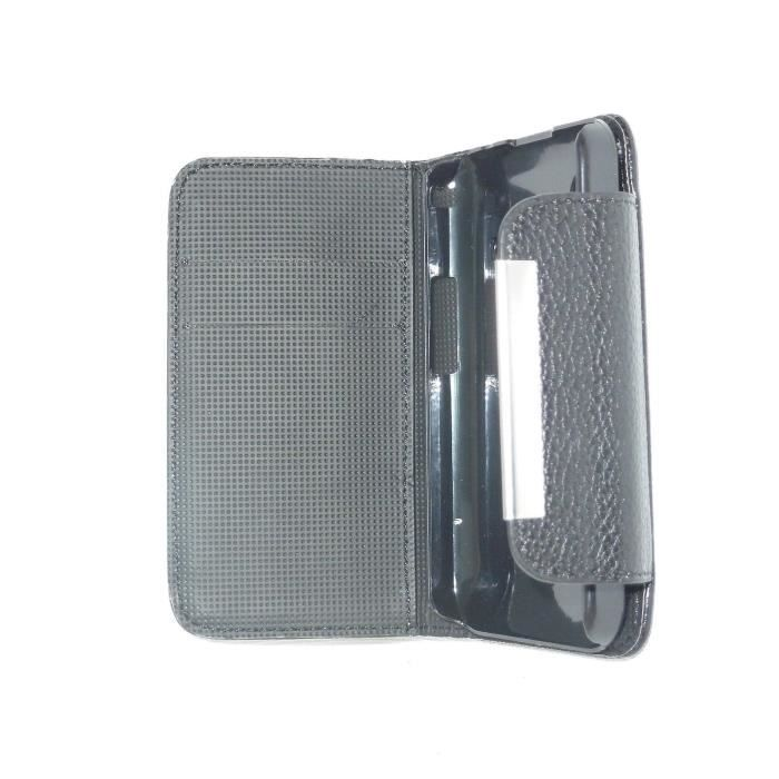 Housse portefeuille coque pochette pour wiko lenny achat for Coque portefeuille lenny 2