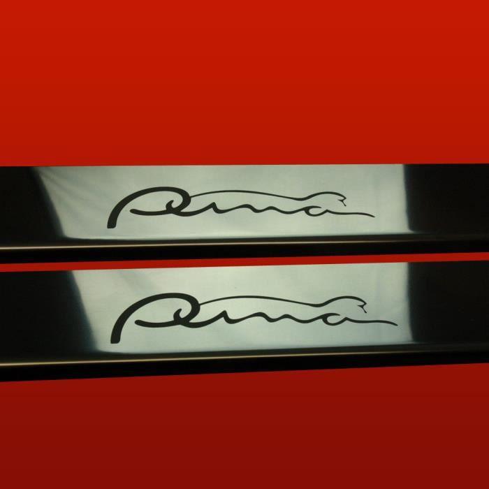 Ford puma seuil de porte en acier inox qualite sup for Seuil de porte a coller