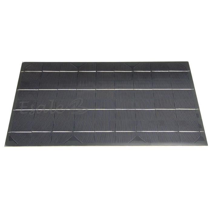 18v 10w 555ma panneau solaire batterie chargeur pour. Black Bedroom Furniture Sets. Home Design Ideas