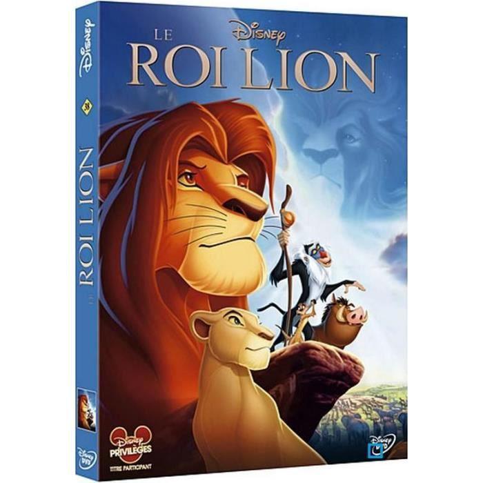 dvd le roi lion disney en dvd film pas cher cdiscount. Black Bedroom Furniture Sets. Home Design Ideas