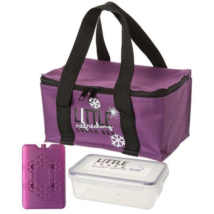 boite repas isotherme lunch box violet achat vente boites de conservation boite repas. Black Bedroom Furniture Sets. Home Design Ideas