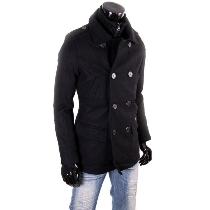 caban kaporal 5 homme amati noir noir achat vente manteau caban caban kaporal 5 homme. Black Bedroom Furniture Sets. Home Design Ideas
