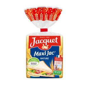 PAIN DE MIE & TOAST Jacquet pain de mie maxi nature 550g