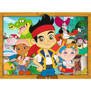 PUZZLE Puzzle 60 pièces : Disney - Jack et les pirates