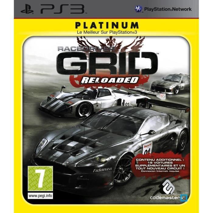 JEUX PS3 RACE DRIVER GRID RELOADED / JEU CONSOLE PS3