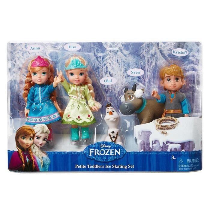 Poup e la reine des neiges mes 5 personnages achat - Personnages la reine des neiges ...
