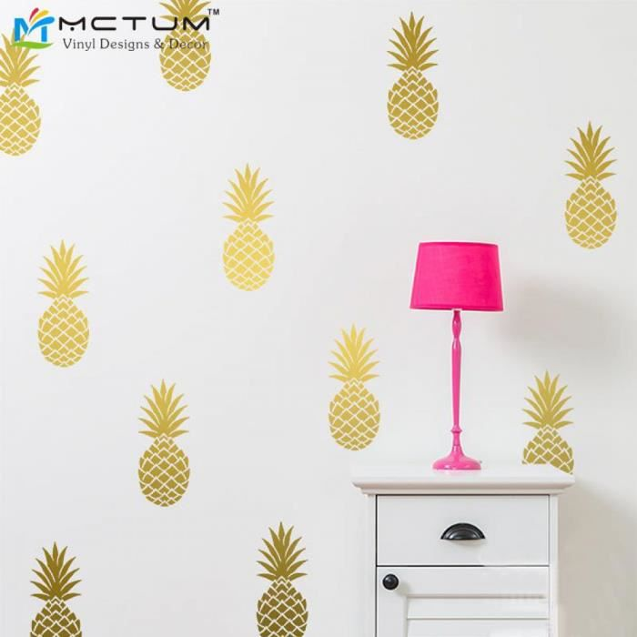 Stickers ananas achat vente stickers ananas pas cher - Ou trouver stickers muraux ...