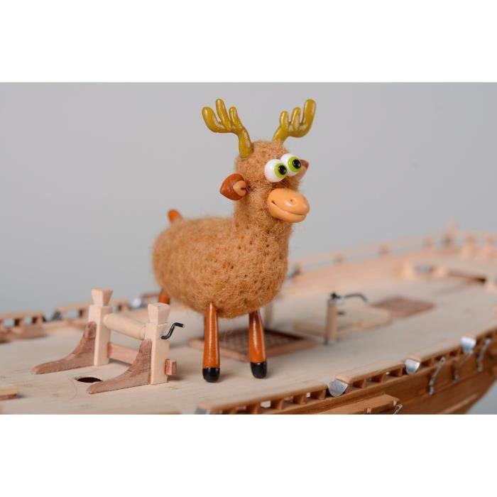 Petit jouet d coratif fait main original en laine achat - Objet decoratif original ...