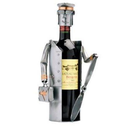Porte bouteille pilote aviateur hinz kunst achat vente porte boutei - Porte bouteille alcool ...