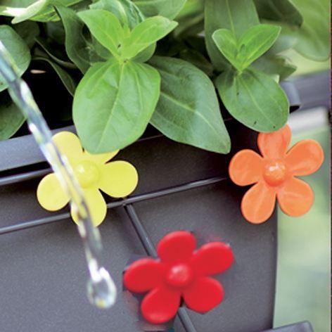 elho bac pour balcon piquet 3pi ces fleur achat vente. Black Bedroom Furniture Sets. Home Design Ideas
