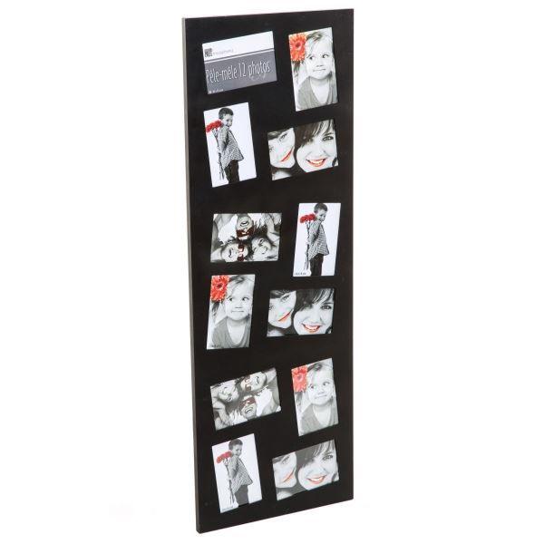 pele mele 12 photos coloris noir achat vente p le m le. Black Bedroom Furniture Sets. Home Design Ideas