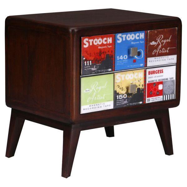 Table de chevet vintage elvis achat vente chevet table - Table de chevet retro ...