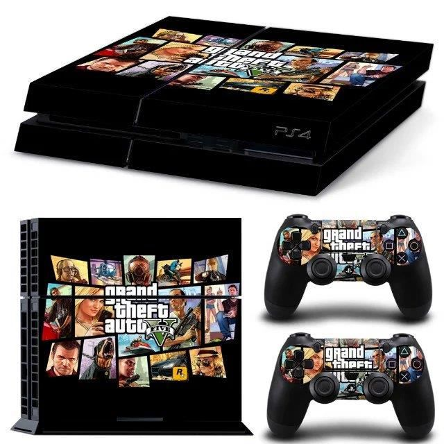 informatique sacoches accessoires skin autocollant motif gta v pour sony ps playsta f  mou