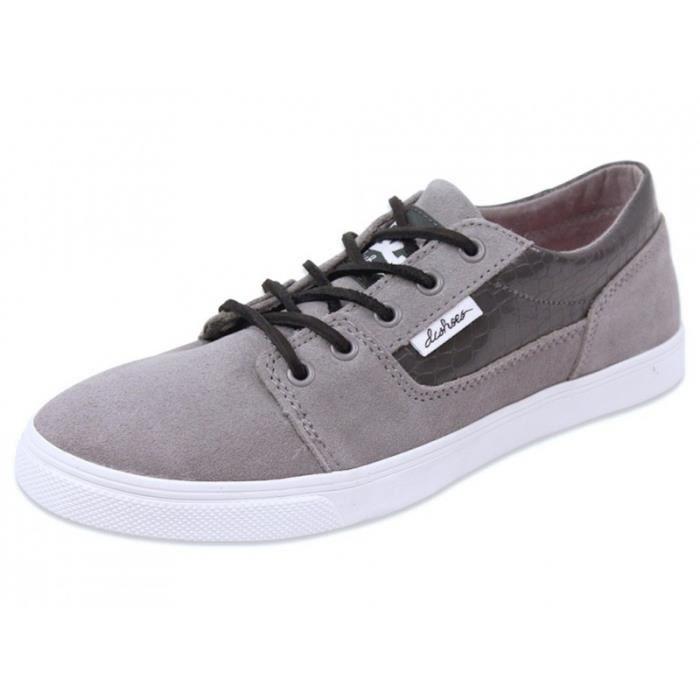 bristol le wdo chaussures femme dc shoes gris achat vente basket cdiscount. Black Bedroom Furniture Sets. Home Design Ideas