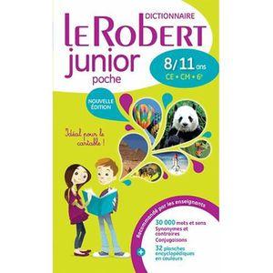 DICTIONNAIRES Le Robert junior poche