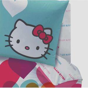Housse de couette 140x190 achat vente housse de couette 140x190 pas cher cdiscount - Housse de couette hello kitty 220x240 ...
